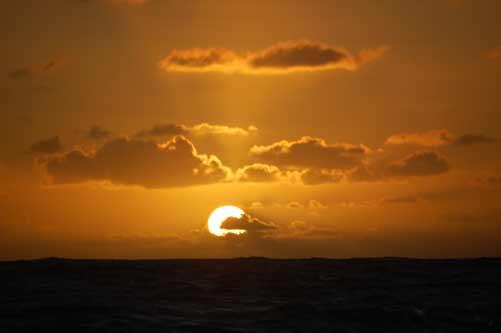 Sonnenaufgang über Barbados